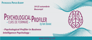 Psychological Profiler in Business Intelligence Psychology @ Intell Psy & Psychological Profiler Academy