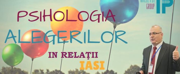 "Workshop in Iasi ""Psihologia alegerilor in relatii"" by Ion Duvac"