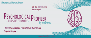 Psychological Profiler in Forensic Psychology @ Intell Psy & Psychological Profiler Academy